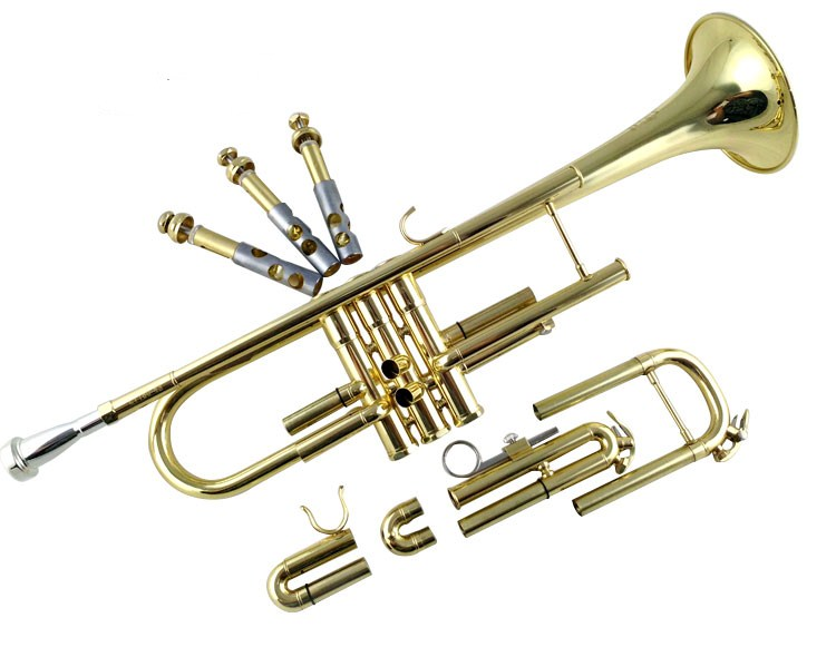 Trumpet Bach Silver Lt180s-43 B Flat Professional Trumpet Bell Top Musical Instruments Brass Horn Free Shipment Musical Instruments