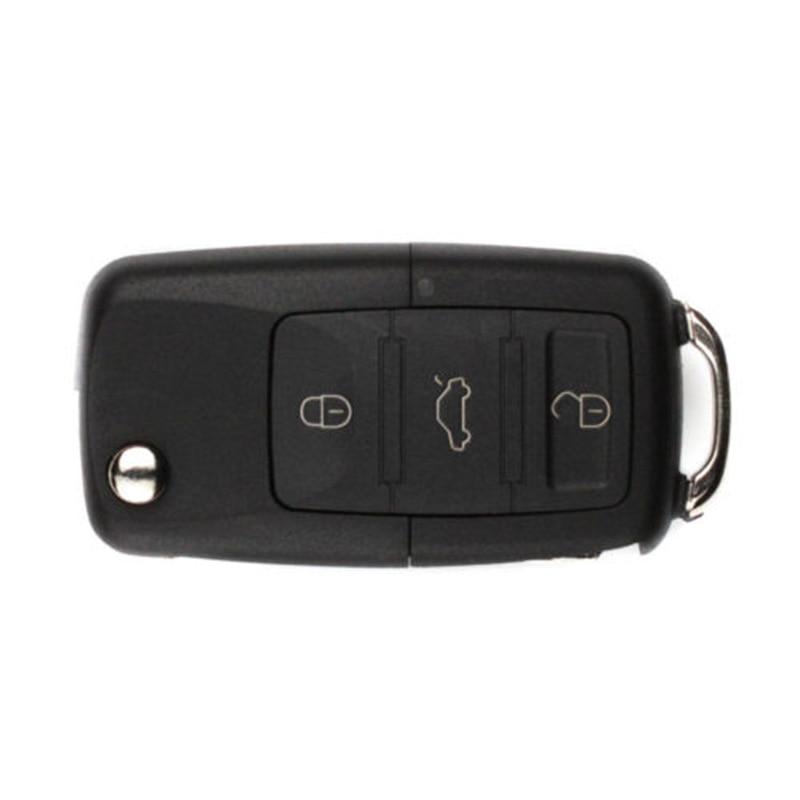 3-Button Car Key Safe Compartment Container Secret Hollow Cash Car Key Shell Hot