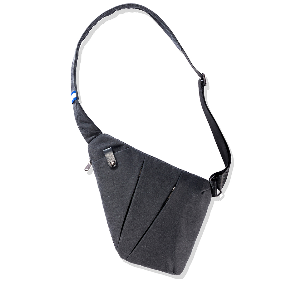 Anti-Theft Single Shoulder Chest Bags Man Multifunctional Small Sling Canvas Crossbody Bags Male