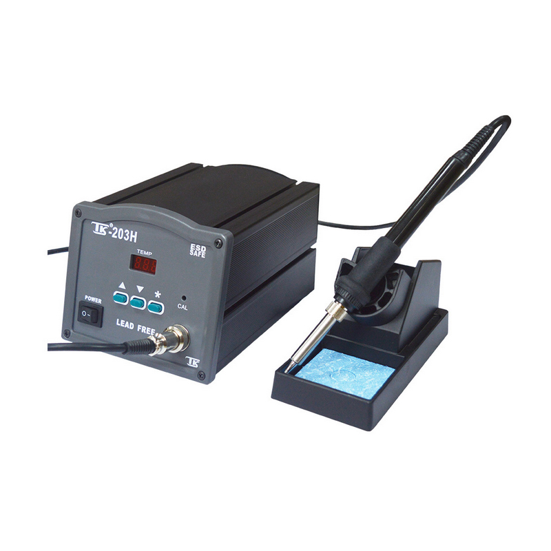 Factory direct 120W high frequency eddy heat smart soldering station adjustable thermostatic iron Tektronix TK120H 220v 120w bk2000 high frequency soldering station lead free solder station high frequency welder for sale