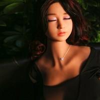 立ち足158センチリアル大人人形シリコーン尻人形セックス日本女の子ゴム猫