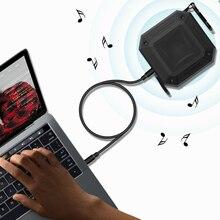 Voulttom Portable Waterproof Bluetooth Speaker Wireless Loudspeakers MP3 Radio Player FM Reciver Outdoor design Boombox aux