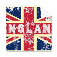 5 Pcs UK England Landmark Flag Mark Illustration Pattern Glasses Cloth Cleaning Cloth Phone Screen Cleaner