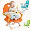 As crianças comem cadeira assento da cadeira do bebê comer comer mesa e cadeira de multi-função da placa pode ser ajustada