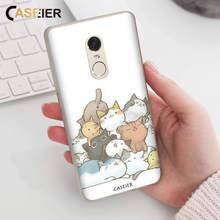 CASEIER Cat Series Phone Case For Redmi 6A Note 6 5 Plus Pro Xiaomi 8 Lite A1 5X A2 6X Matte Cover Fundas