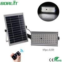 Boruit 65 بقيادة مصباح الشمسية رادار الميكروويف استشعار الحركة الشمسية ضوء ماء حديقة يارد الشمسية شارع الخفيفة 10 واط led الفيضانات ضوء