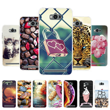 3D DIY Soft Silicone Case For Asus Zenfone Max Coque ZC550KL Cover Painted Cases Fundas Housing
