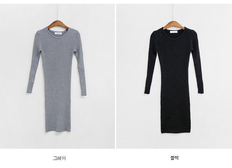 HTB11QuibfjsK1Rjy1Xaq6zispXax - skinny  solid Elegant Autumn Dress Girls Boho Female Vintage Dress knitting Women LongSleeve Women Dresses knitted Robe Vestido