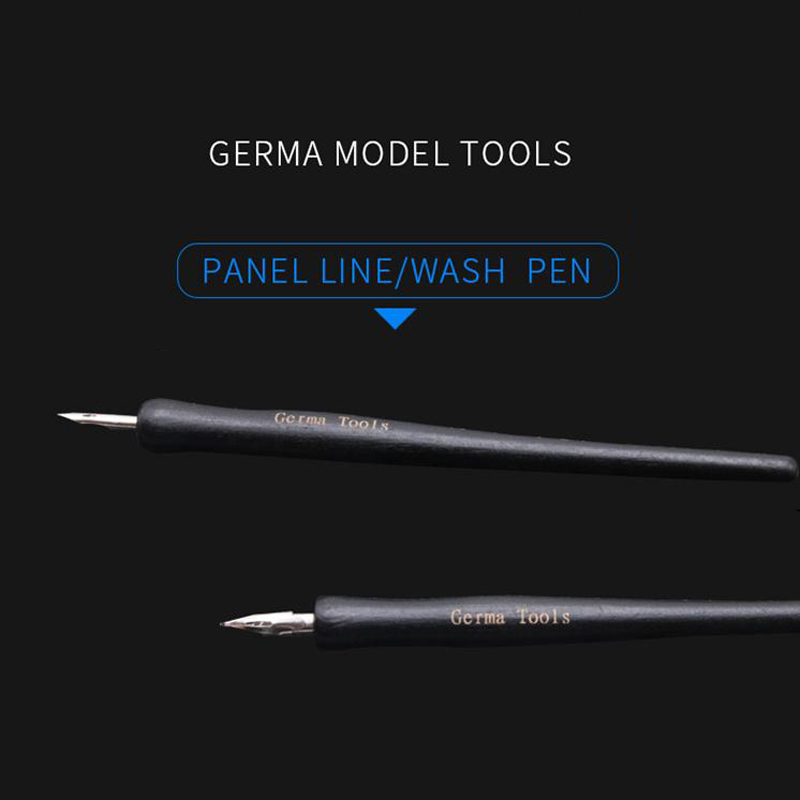 Model Panel Line Accent Color Specific Pen Avoid Scrubbing Infiltration Line Pen 2 Pieces Pen Nib DIY Hobby Model Tool Accessory