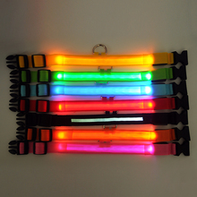 Fluorescent LED Dog Collars