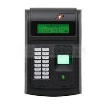 DIYSECUR LCD Biometric Fingerprint PIN Code Door Lock Access Control + 125KHz RFID ID Card Reader Keypad USB / Door Bell Button