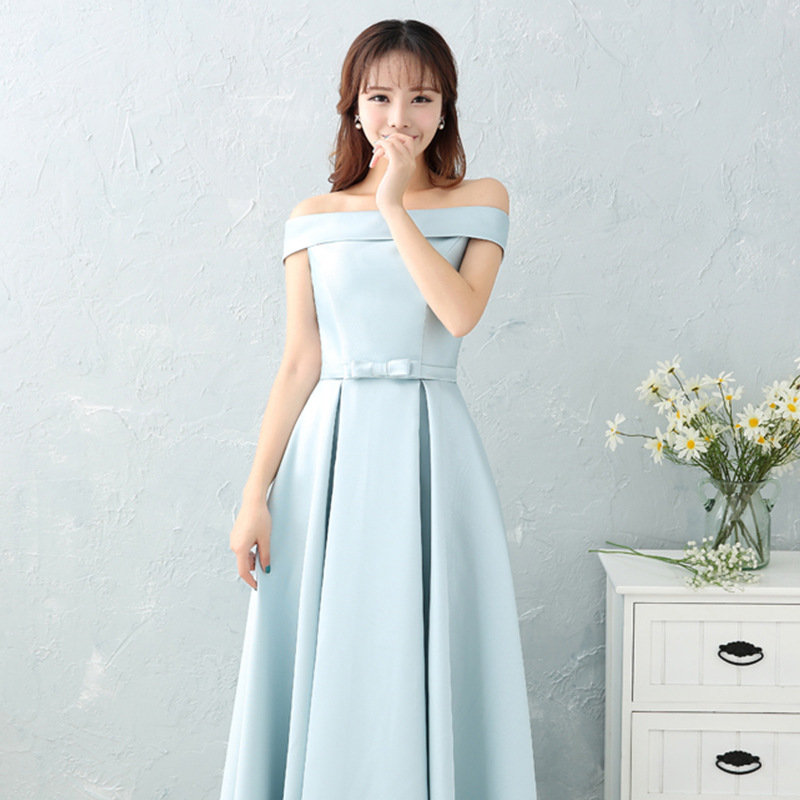 Women New Wedding Bridesmaid Dress Elegant Full Length Stage Show Qipao 12 Style Available Sexy Solid Cheongsam New Vestidos