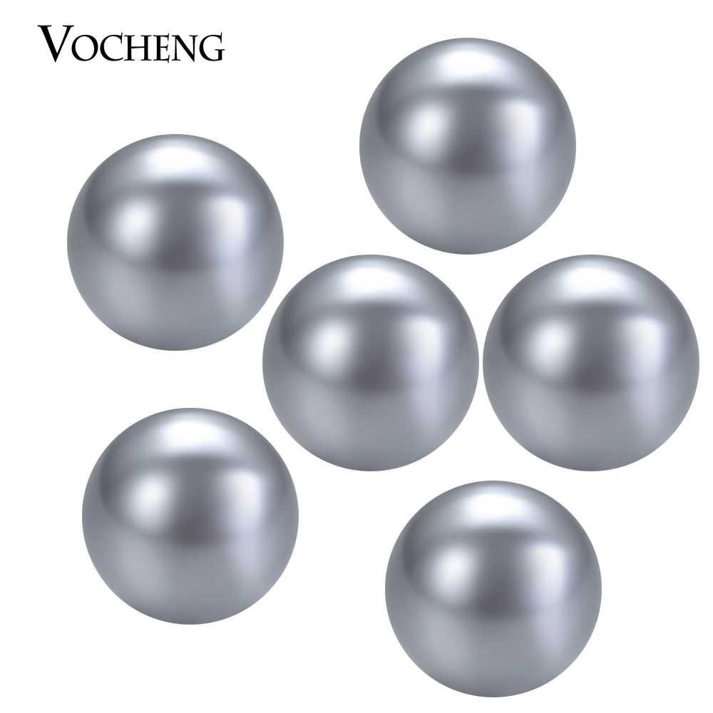 50 ชิ้น/ล็อตสีผสมน้ำมันหอมระเหย Ball 6mm น้ำมันหอมระเหยน้ำมันหอมระเหยน้ำหอมธรรมชาติหินสำหรับ Pearl Locket VA-532