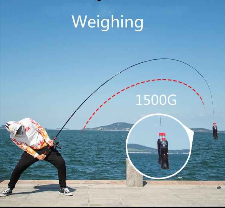 Super Vara de Pesca Duro de Alto