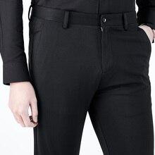 Костюм брюки мужские Брюки Молодежный облегающий Бизнес офисные брюки мужские брюки в деловом стиле мужские брюки черные брюки 2-40