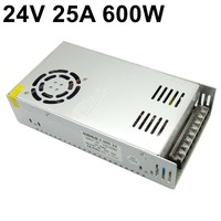 24V 25A 600W switching power supply Single Output Transformers 110V 220V AC TO DC 24 volt SMPS for LED Strip Lamp Light