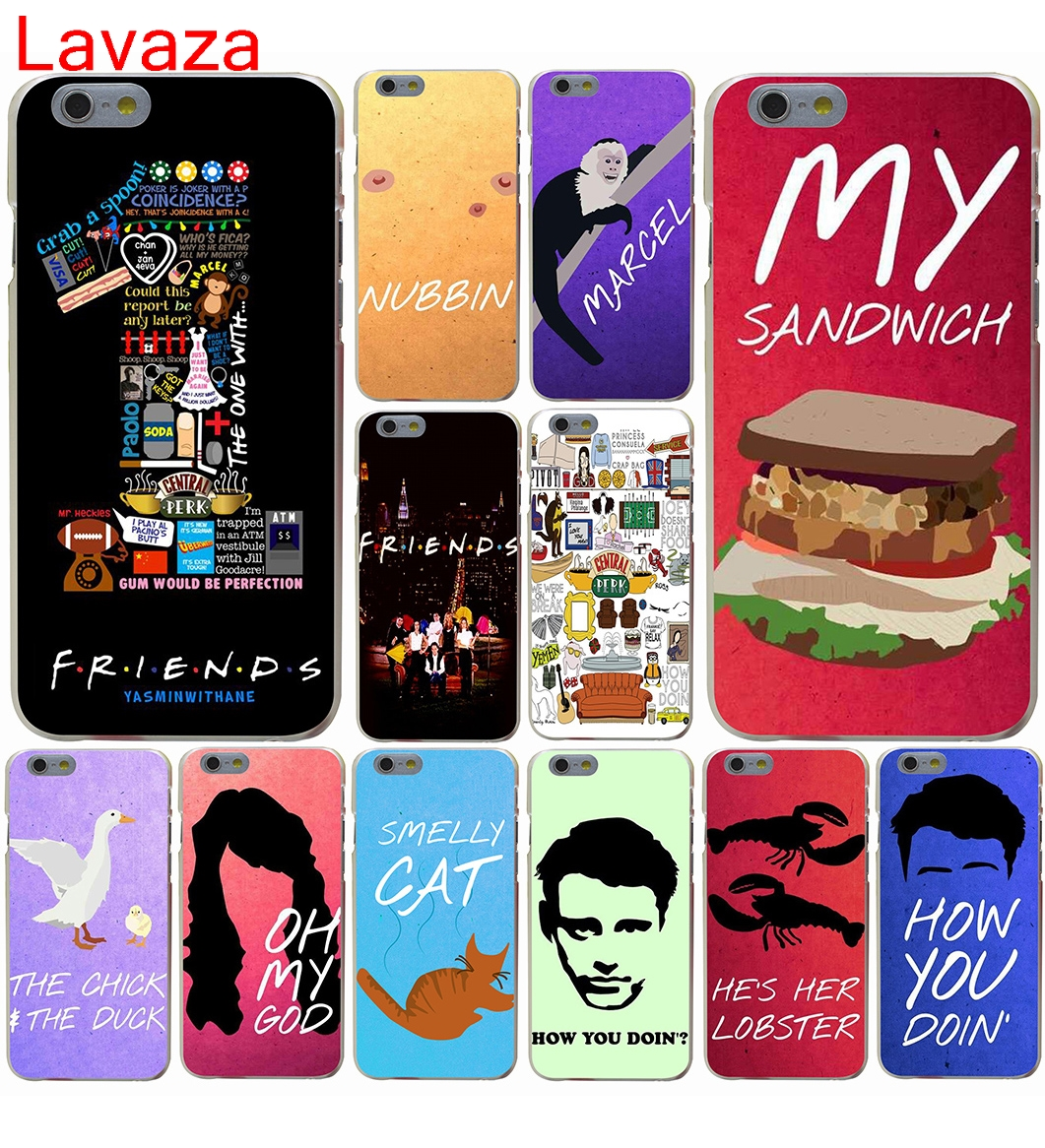 Lavaza <font><b>Friends</b></font> <font><b>TV</b></font> <font><b>Show</b></font> Series Sitcom <font><b>Phone</b></font> Hard <font><b>Case</b></font> for iphone 4 4s 5c 5s 5 SE 6 6s 6/7/8 plus X for iphone 7 <font><b>case</b></font>
