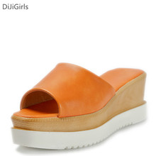Summer Sandal Shoes Women Slipper Platform High Heel Sandals Women Wedge Sandals Casual Beach Slippers Woman Sandalias Mujer2016