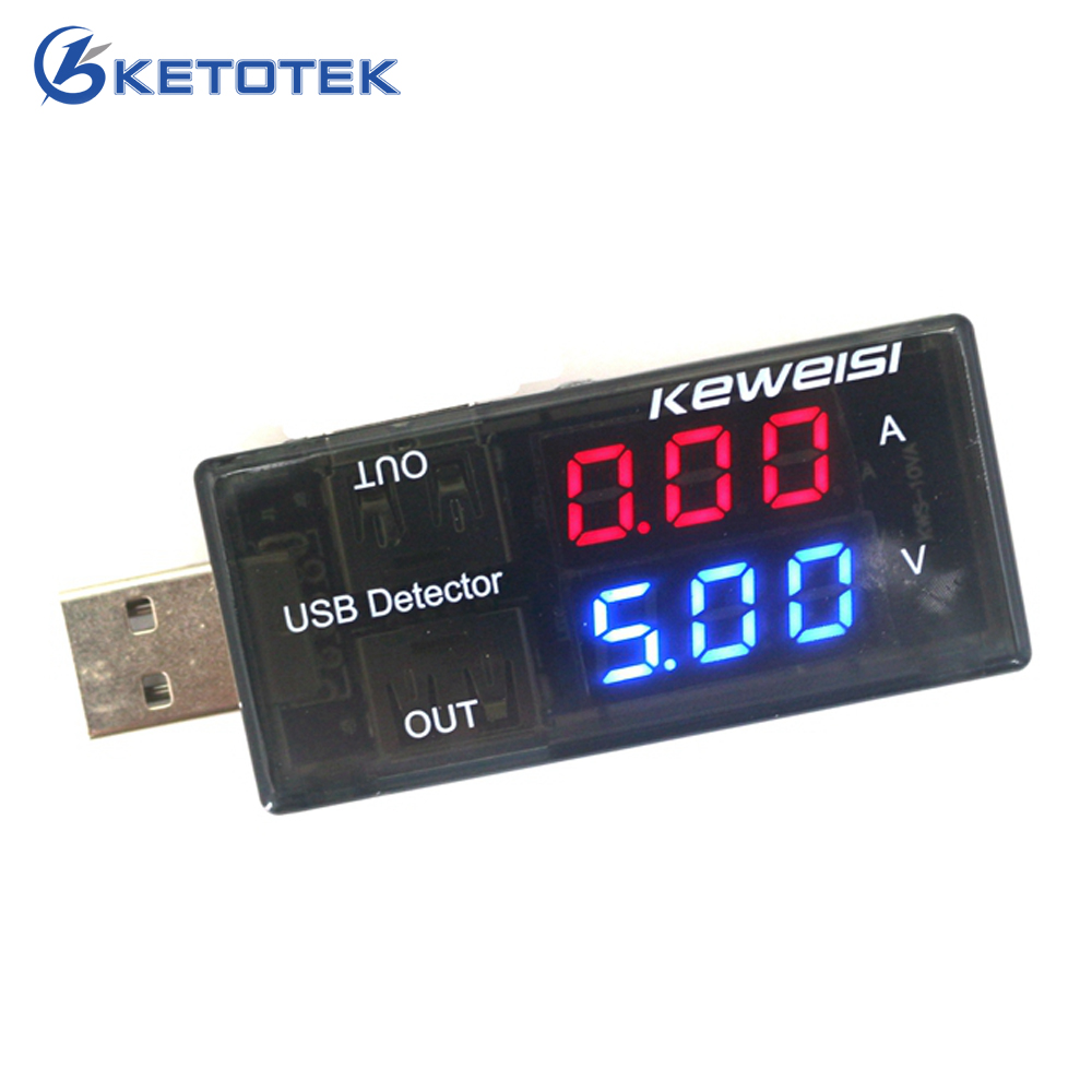 Dual Display USB Charger Current Voltage Tester Charging Detector Power Voltmeter Ammeter Volt Amp Monitor usb current voltage charging detector mobile power current and voltmeter ammeter voltage usb charger tester double row shows h7 page 8