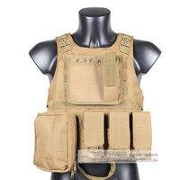Militaire Tactique Gilet D'assaut Airsoft SAPI Plate carrier Multicam Armée Molle Mag Munitions Chest Rig Paintball Body Armor Harnais