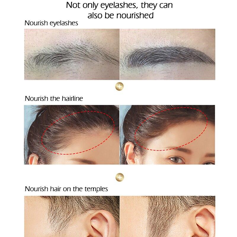 SENANA EGF Eyelash Growth Serum Vitamin E Eyelash Enhancer Longer Fuller Thicker Lashes Eyelashes Eyebrows Enhancer Eye Care 7Ml 6
