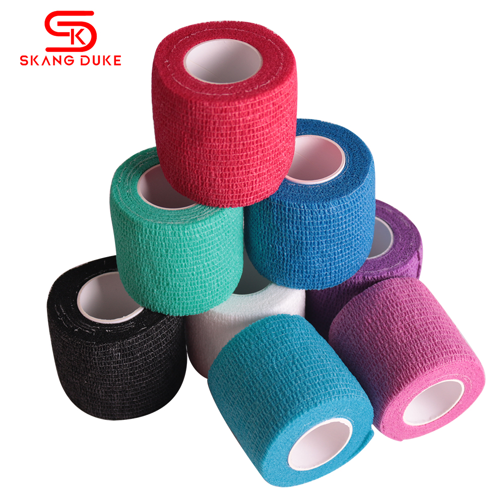 2.5-10cm Sport Elastoplast Athletic Kinesiology Elastic Bandage Ankle Knee Arthrosis Protector Self Adhesive Wrap