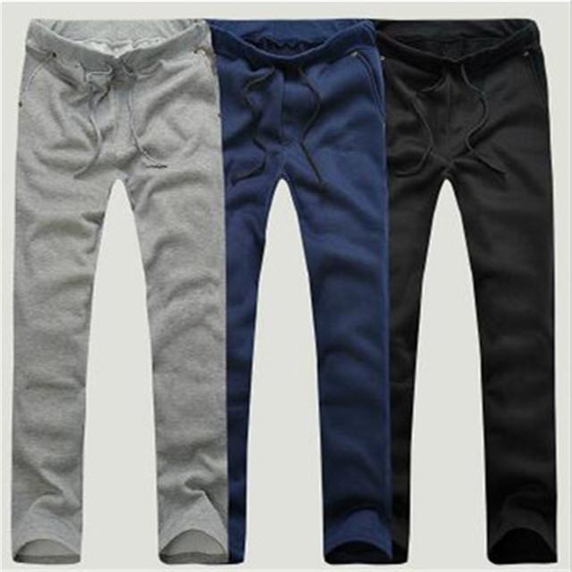 2016 nova cor Sólida Musculação do movimento Hip hop lazer roupas tempo yeezy impulso pantalon homme calças dos homens corredores