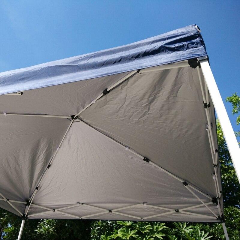 Fotografia scenic 10'x10 Barraca de Camping Dobrável Fácil Pop Up Gazebo do Dossel Pavilhão Pátio Ao Ar Livre Tenda Do Casamento Do Partido Do Evento com Saco Azul EUA Estoque - 3