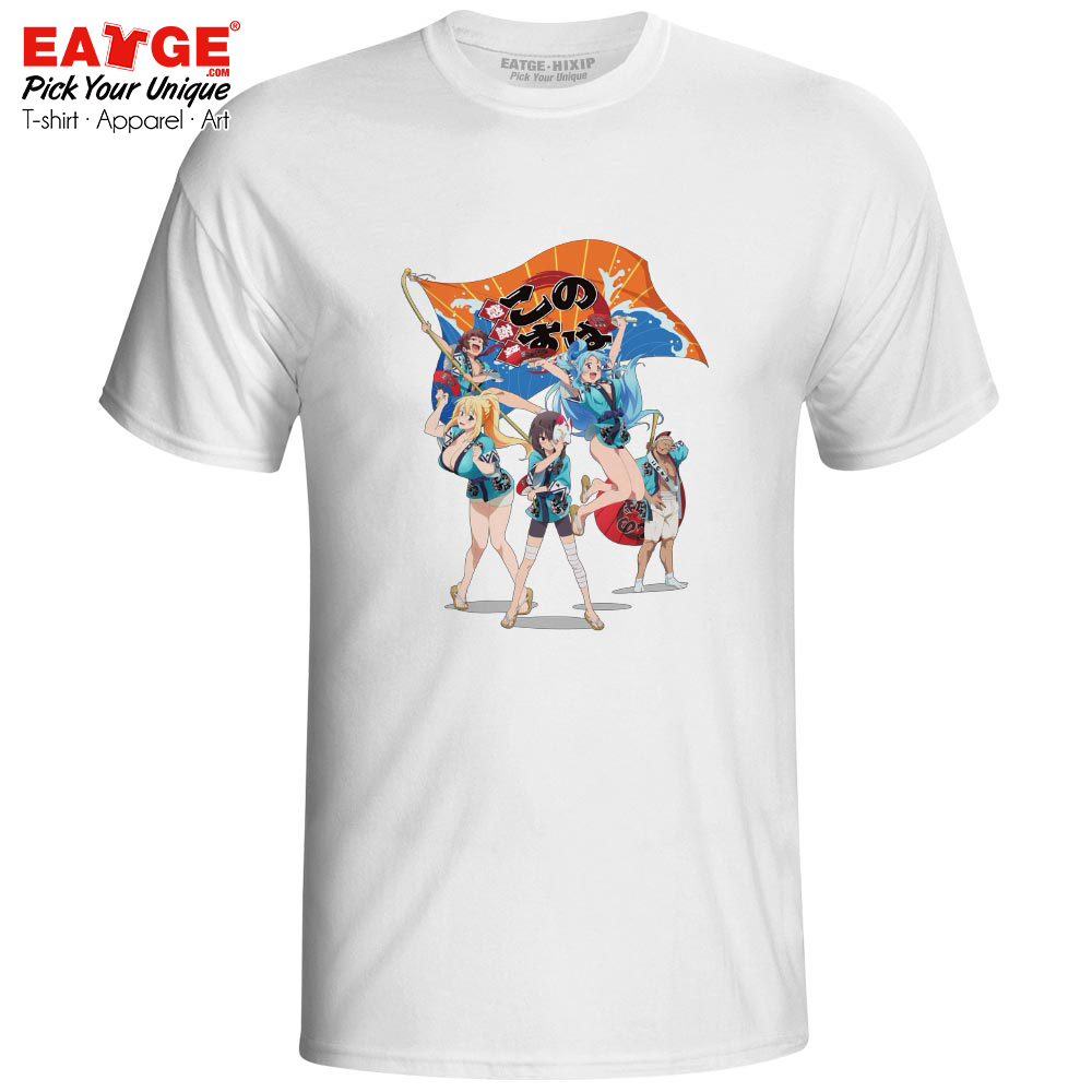 Ultimate Collection Of KonoSuba T Shirt Gods Blessing On this Wonderful World T-shirt Anime Design Men Women Unisex Tee