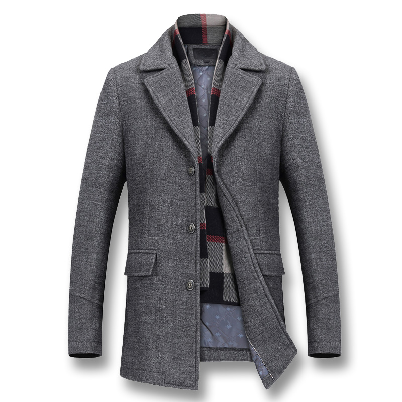 Winter Thick Cotton Wool Coat 1