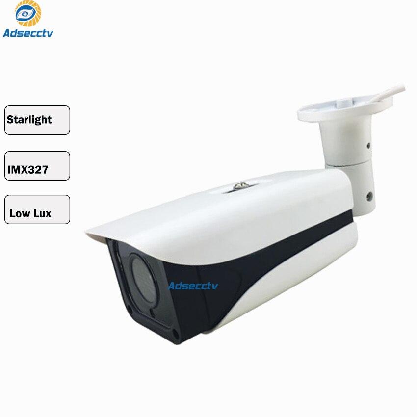 Tvi ahd caméra 1080p sony starvis starlight imx327 cmos capteur surveillance vidéo extérieure avec Vision nocturne cctv balle caméra