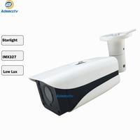 tvi ahd camera 1080p sony starvis starlight imx327 cmos sensor outdoor video surveillance with Night Vision cctv bullet camera