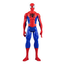 The Marvel Legend Ultimate Spider- Man PVC Collectible Titan Hero Series With Box Doll Gift 12inch Children gift high quality marvel universe ultimate spider man