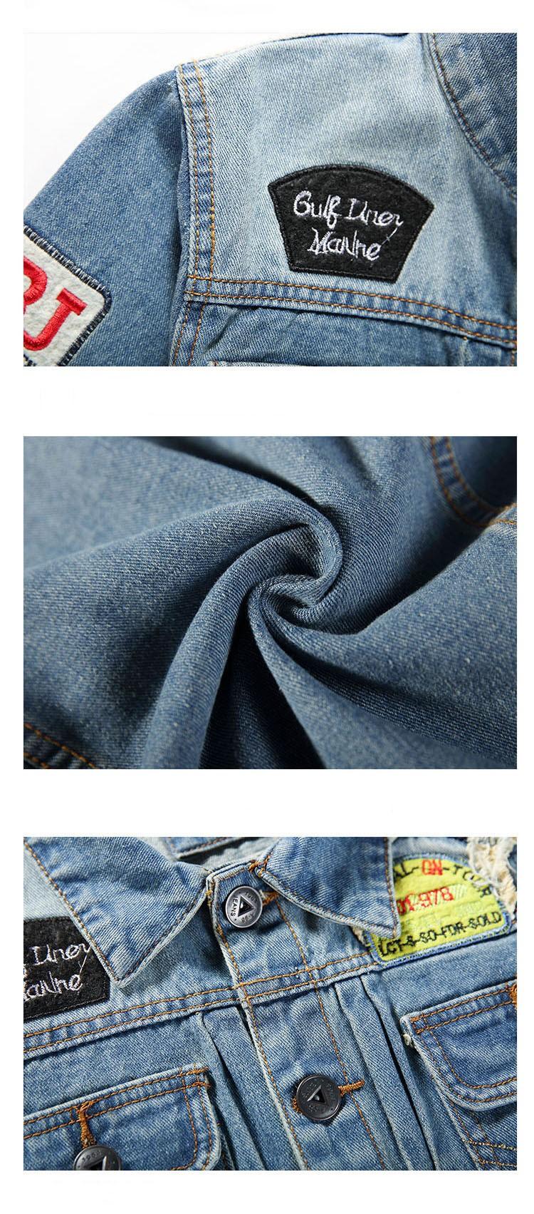 Men's Denim Jacket high quality fashion Jeans Jackets Slim fit casual streetwear Vintage Mens jean clothing Plus Size M-5XL (12)