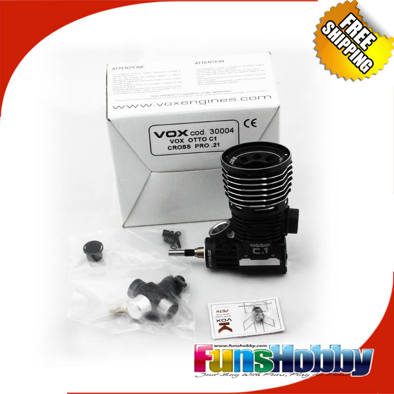 VOX C.1 PRO 1/8 OFF ROAD NITRO ENGINES (COD:30004) (FREE EMS SHIPPING ) vox vss 1 bk