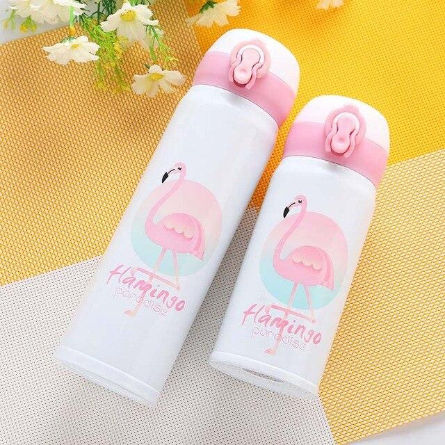 Kawaii Flamingo Thermal Flask (500ml)