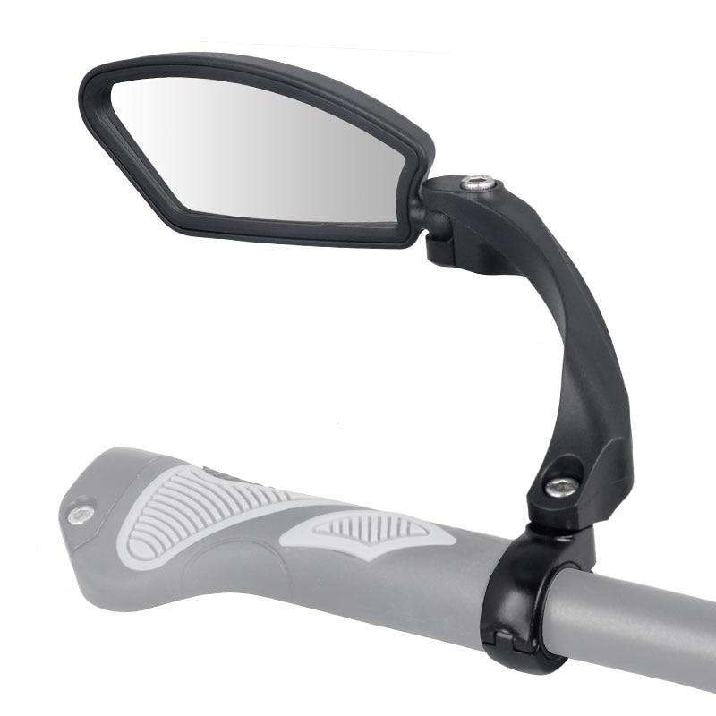 Unzerbrechlich Edelstahl Objektiv 1 stück Fahrrad Spiegel Klar Breite Palette Zurück Anblick Links Rechts Reflektor Winkel Einstellbar Hafny