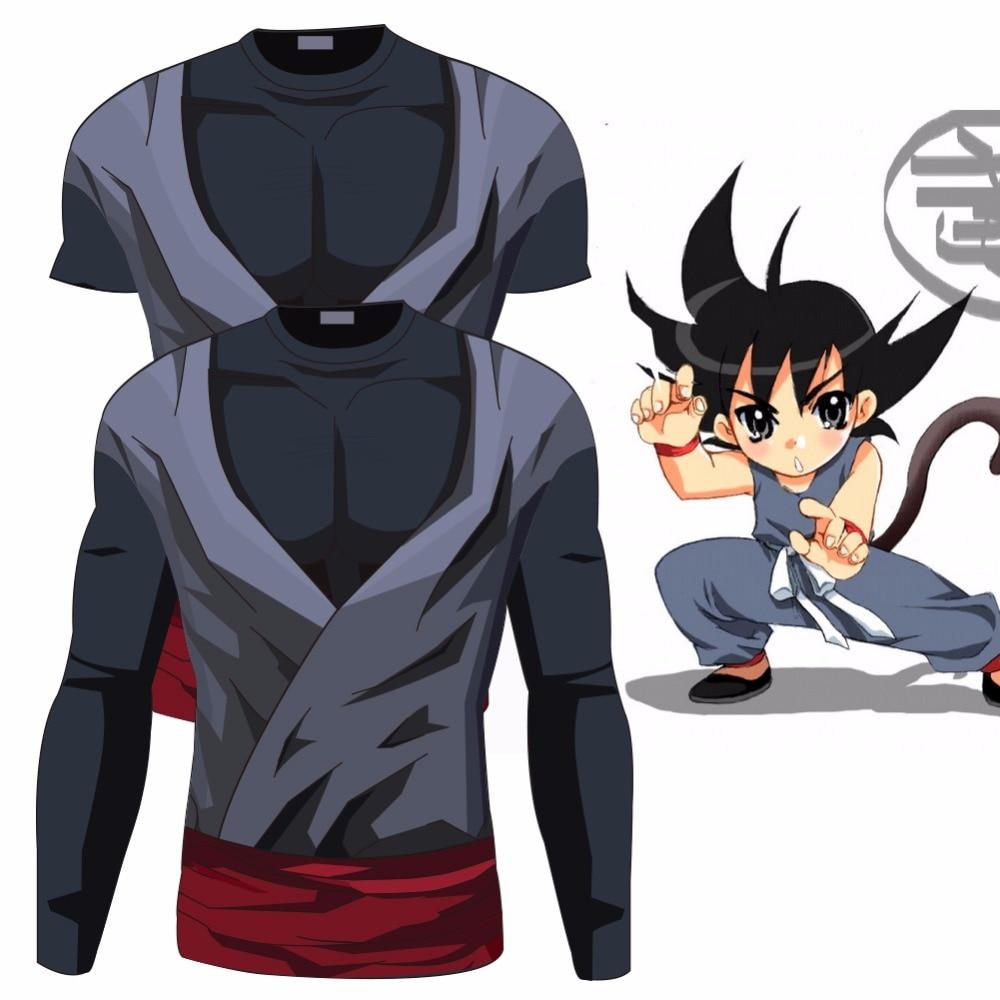 2017 Ball Z Men 3D Dragon Ball Z T Shirt Vegeta Goku Summer Style Jersey 3D Tops Fashion Clothing Tees Plus