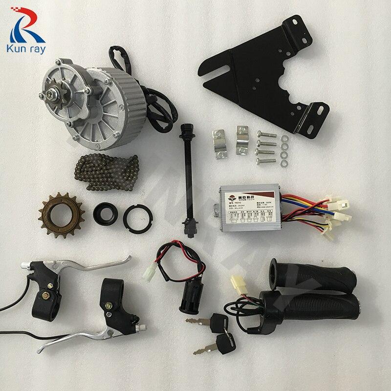 Ebike conversion kit MY1018 24 В 36 В 22-28 колеса Электрический мотор hub Электрический велосипед conversion kit 250 Вт 450 Вт электродвигателя Кити