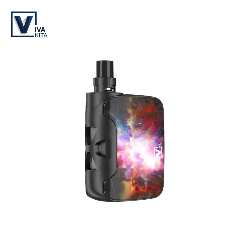 Vape kit di Fusione SP 2.0 ml Sigaretta Elettronica 1500 mah box mod 50 w All-In-One atomizzatore vapore vaporizzatore box Mod sostituibile Bobine