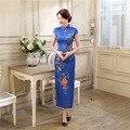 Shanghai Story Chinese qipao summer dresses Chinese Cheong-sam Long Evening Dress retro dress