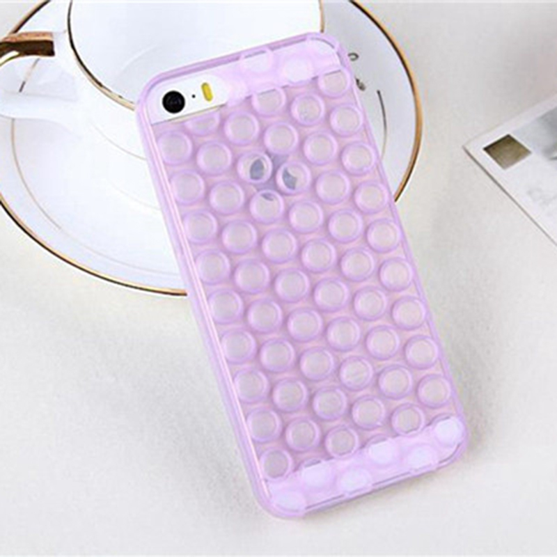 premium selection 4ff2f 6f2d2 US $2.29 |Luxury Hot 3D Bubble Wrap Design Soft TPU Phone Case Cover for  iPhone 5S 6 6S Plus EC776/EC777/EC778-in Half-wrapped Case from Cellphones  & ...