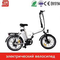Hot Sale Electric Folding Bicycle With 250W Brushless Motor 36V10Ah Lithium Battery