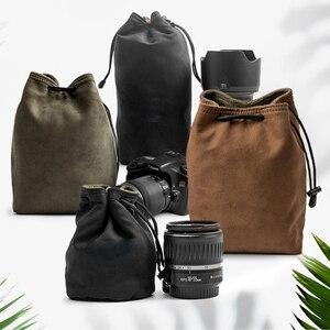 Image 1 - Camera Retro Protector Case Soft Bag Pouch for Canon Nikon Sony Pentax DSLR &  Mirrorless Camera  70D 5D3 D800 D5300 A7R2 XT 20