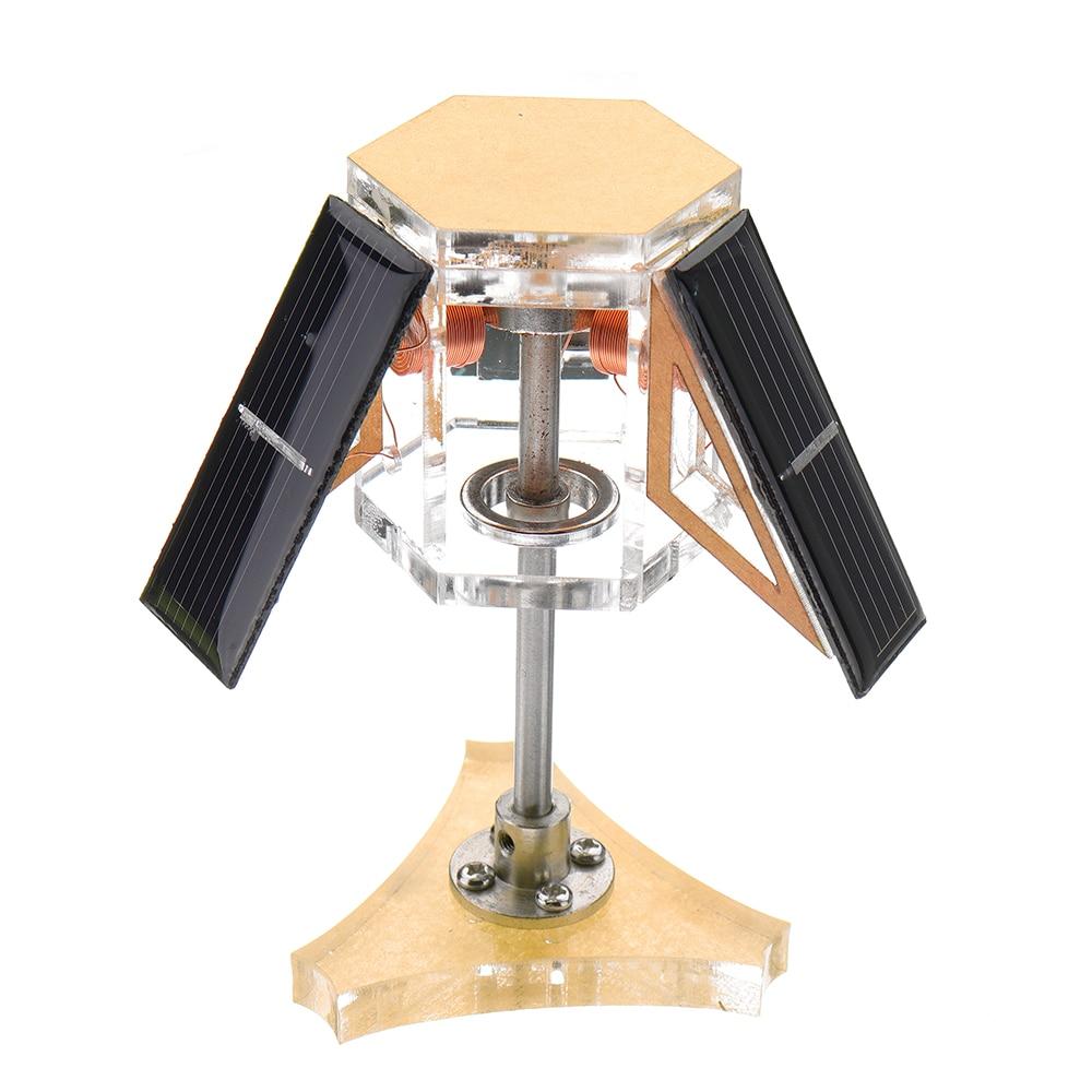 Solar Magnetic Levitation Mendocino Motor Education Model Steam Stirling Engine