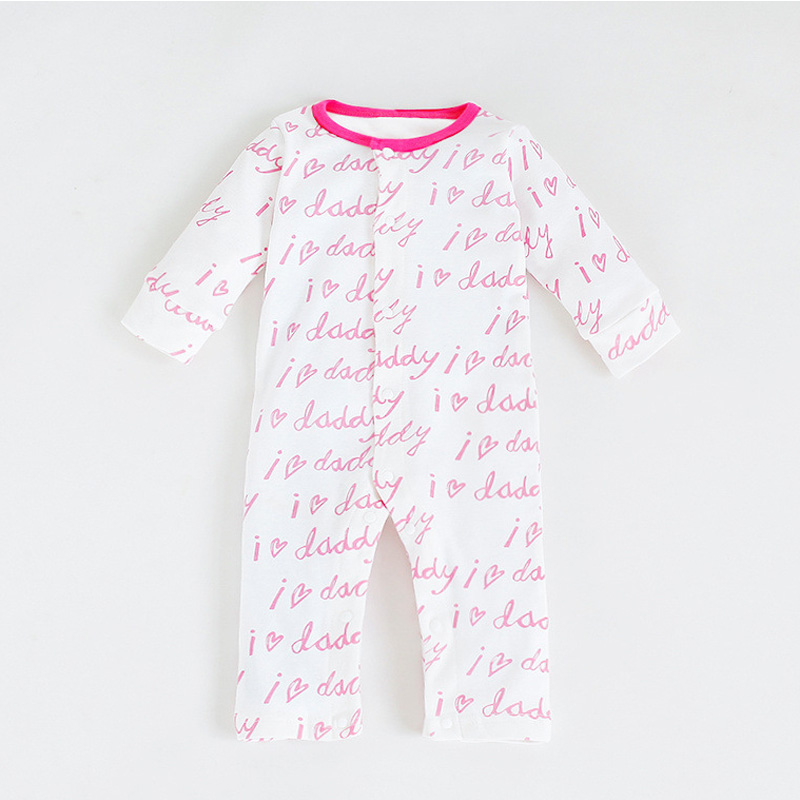 Valentine Newborn Baby Rompers Baby Clothing Spring Autumn Cotton Infant Jumpsuit Long Sleeve Girl Boys Rompers Costumes Onesie newborn baby rompers baby clothing set fashion summer cotton infant jumpsuit long sleeve girl boys rompers costumes baby romper