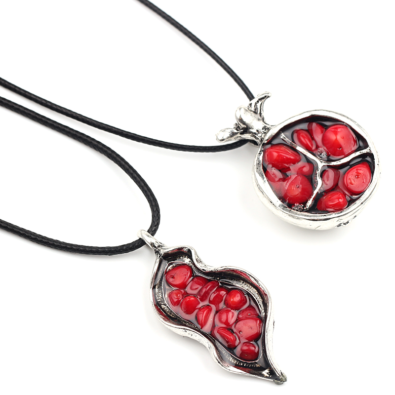 Hearty Dxjel 100% Real 925 Sterling Silver Red Garnet Stone Bead Chain Pendant Necklace Fine Jewelry Accessories Statement Necklace New Beautiful And Charming Pendant Necklaces Necklaces & Pendants