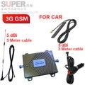 Para Rusia de refuerzo coche de refuerzo de doble banda GSM 900 Mhz 3G WCDMA 2100 Mhz 3G repetidor de refuerzo para el coche, el uso del coche de refuerzo GSM 3G repetidor