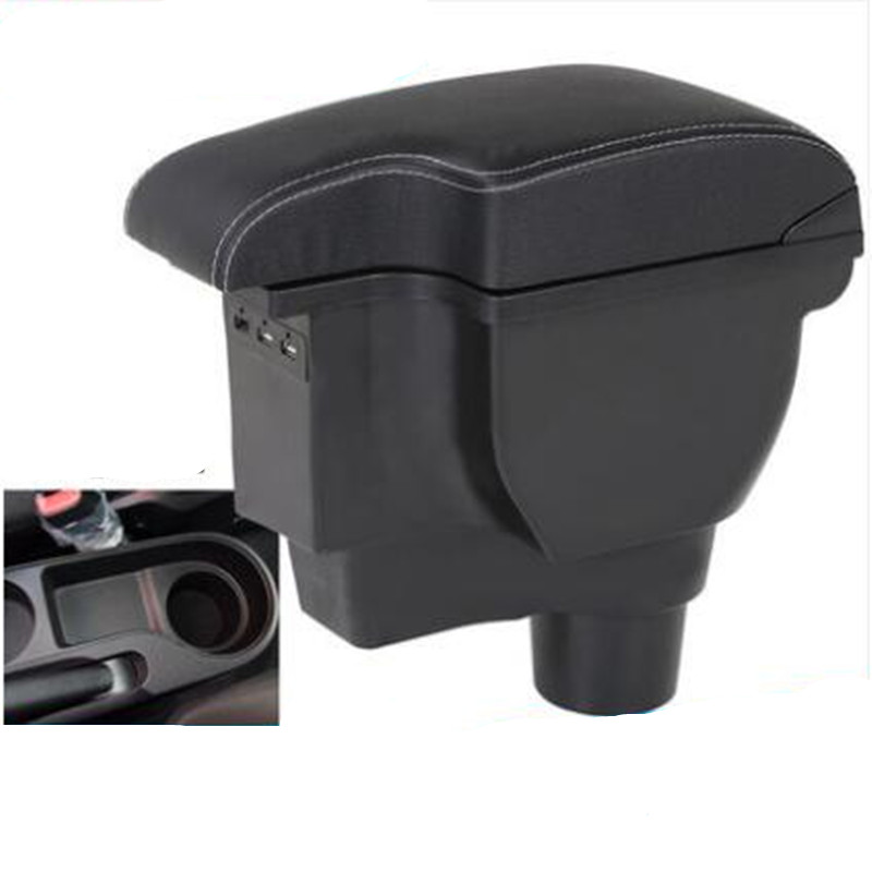 For KIA Rio 4 Rio X-line armrest box central Store content box car-styling accessories
