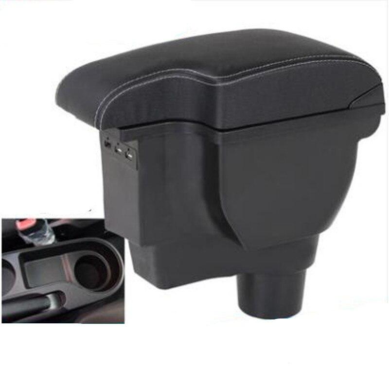 Para KIA Rio 4 Rio-line X caixa Armazenar conteúdo caixa apoio de braço central do carro-styling acessórios